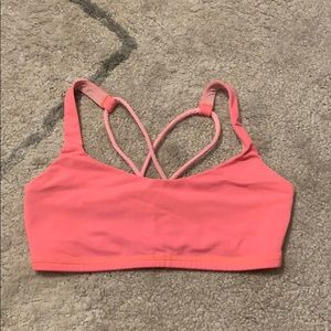 Pink Lululemon Sport Bra